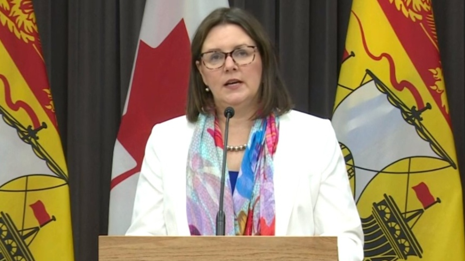 Chief medical officer of health Dr. Jennifer Russell says the outbreak in the Moncton is travel-related.