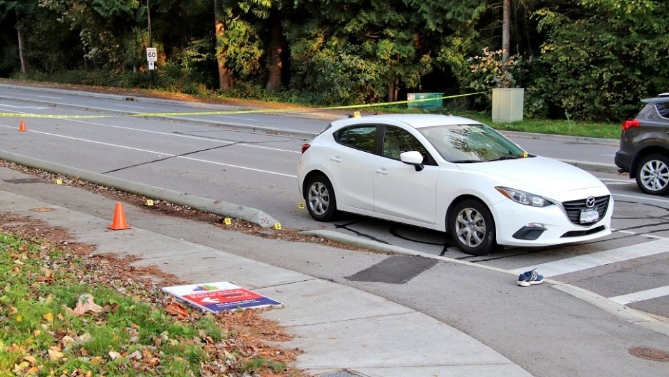 Surrey road rage incident