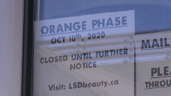 When Zones 1 and 5 were ordered back to the orange phase on Friday, fitness centres and salons were among some of the industries forced to close.