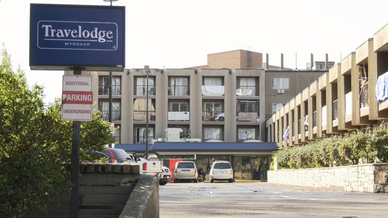 The province has leased the Travelodge building in Victoria's Burnside Gorge area to be used as a shelter until the end of 2021.
