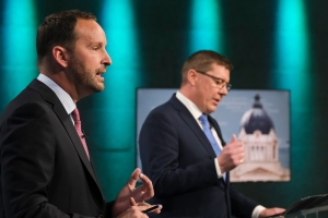 Saskatchewan leaders debate