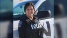 OPP officer Jennifer Landry was shot and killed while off duty. (Charlie Angus/Twitter)
