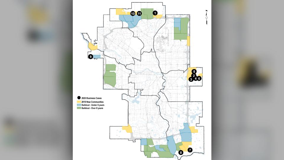 New Community Business Cases, Calgary
