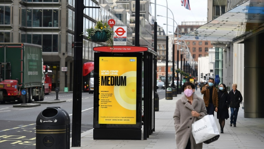 London Coronavirus Restrictions To Increase From Tier One To Tier Two