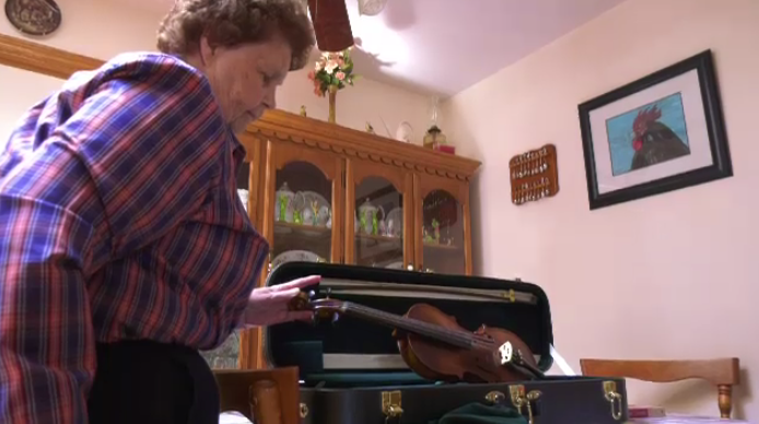 For 87-year-old Dorothy MacIntosh, unlocking a lifelong dream of hers was tucked away in a violin case.