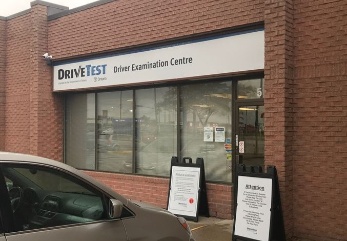 Sarnia DriveTest examination centre