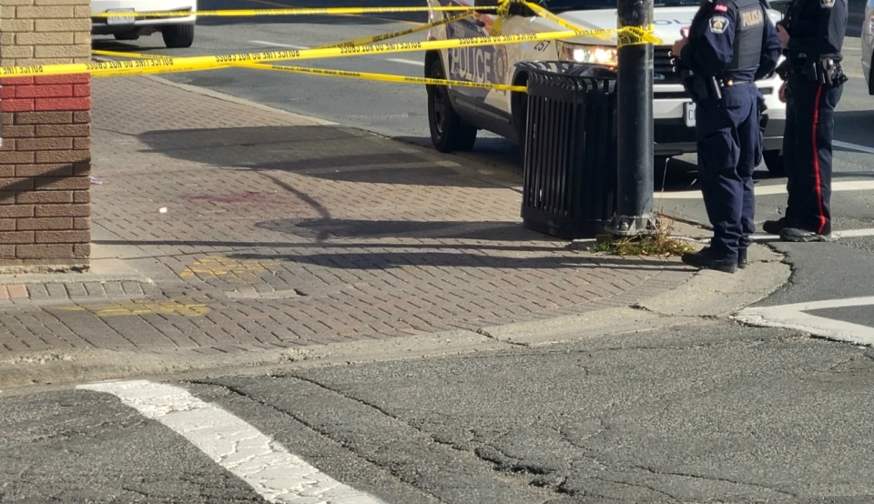 The man who was stabbed in downtown Sudbury on Wednesday afternoon has died, Greater Sudbury Police said Thursday. (File)
