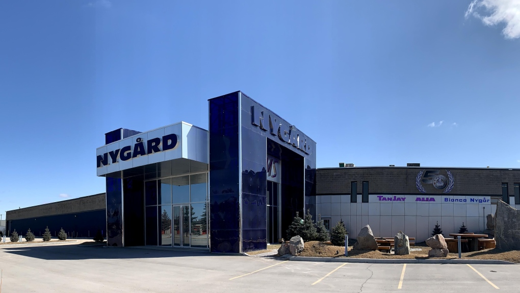 Nygard warehouse 1771 Inkster Blvd