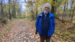 Anthony Friend spent the night in Gatineau Park after becoming lost while hiking. (Tyler Fleming/CTV News Ottawa)