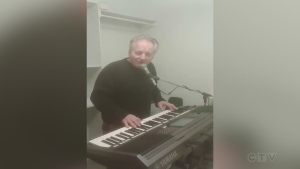From Copper Cliff, keyboard master Victor John covers 'I Couldn't Leave You if I Tried' by Rodney Crowell.