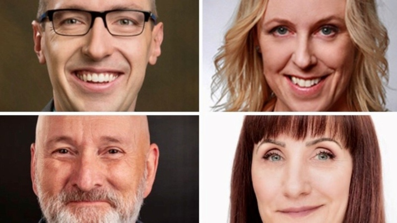 Andrew Knack, Kim Krushell, Mike Nickel and Cheryll Watson are all possible challengers for the mayor's chair in the 2021 election.