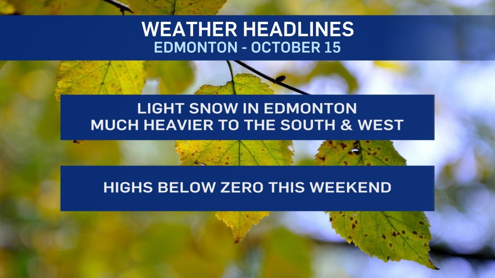 Oct. 16 weather headlines