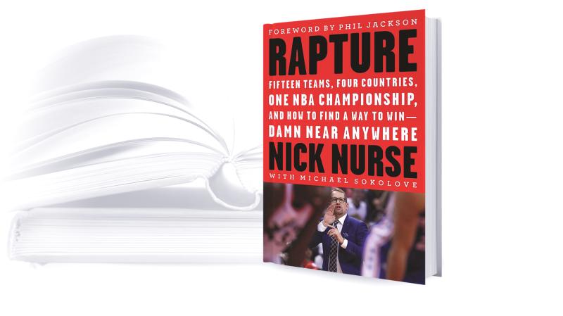 Nick Nurse's new book 'Rapture'