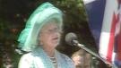 Queen Mother's visit to Regina in 1985
