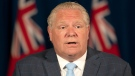 Ontario Premier Doug Ford answers questions during the daily briefing at COVID-19 at Queen's Park in Toronto on Thursdsay July 2, 2020. THECANADIAN PRESS/Frank Gunn