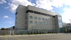 The new Donald B. Green Tower at the Brockville General Hospital. (Nate Vandermeer/CTV News Ottawa)
