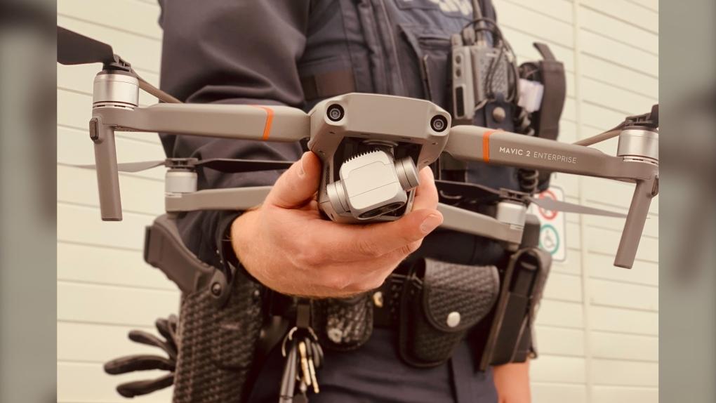 Lethbridge police drone