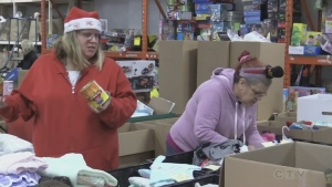 Sault Ste. Marie's Christmas Cheer depot is bracing itself for a big day. The donation blitz will take place from 11 a.m. to 3 p.m. Nov. 28 at the former Walmart store in Station Mall. (File)