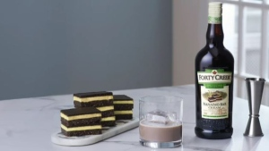 The liqueur launched across the country in October: (Forty Creek)