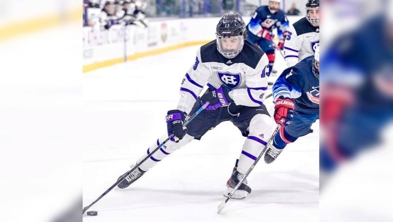There are different plans for the 2020-21 hockey season at Canadian and American universities, officials say. (Supplied)