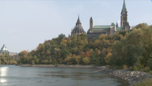 Ottawa Parliament Hill Fall Weather
