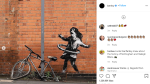 Banksy shared this image of his new painting on his Instagram on Saturday, Oct. 17, 2020. (Banksy/ Instagram)