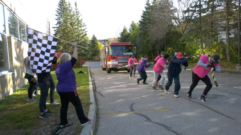 Omaha To Brockville Canada Map Of The Roads Record $22,000 raised in Brockville's YMCA fire truck pull | CTV News