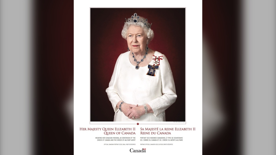 Queen's Canadian portrait