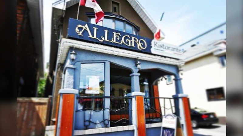 Allegro Ristorante on Preston Street is closing on Oct. 24 after over 30 years in Little Italy. (Photo courtesy: Facebook/Allegro Ristorante)