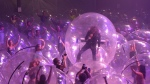 The Flaming Lips are using inflatable human-sized bubbles to defend themselves and fans against Covid-19 while finding a way to play live. (Courtesy Scott Booker/Warner Records/CNN)