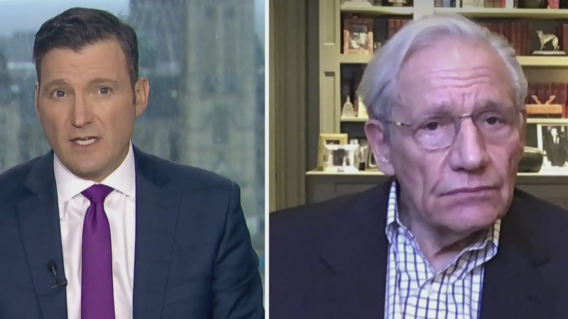 Evan Soloman talks with Bob Woodward