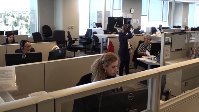 Alberta Health Services' contact tracers are tasked with figuring out all the people who may have been in contact with a person who is contagious with COVID-19.