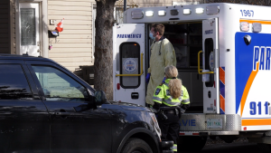 Saskatoon police were called to Stanley Place for reports of a woman who was stabbed. Chad Leroux/CTV Saskatoon