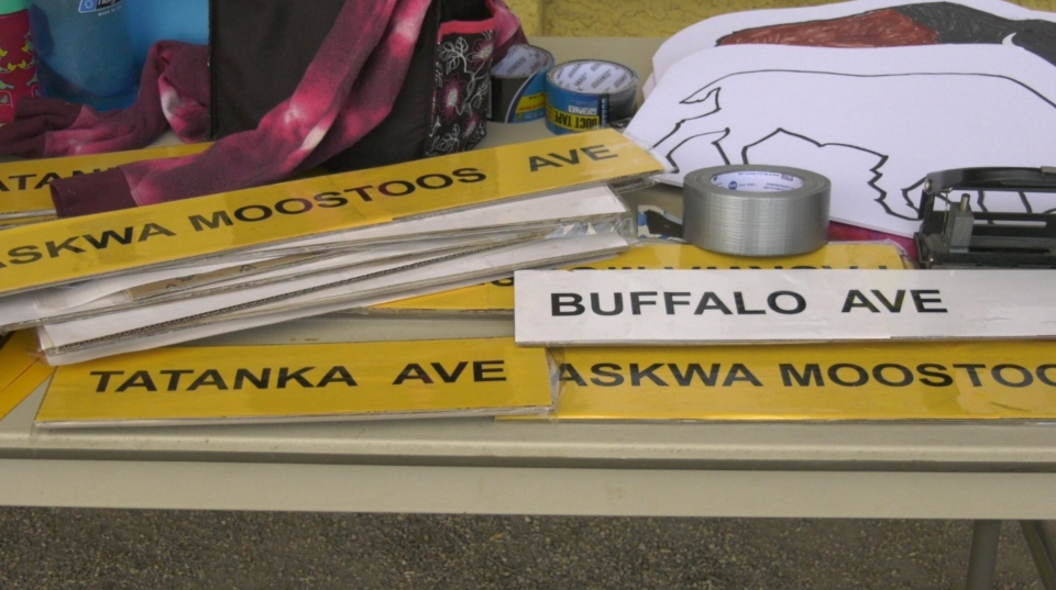 Organizers said the name change would educate people about the importance of the buffalo, as well as honour past stories of Indigenous peoples. (CTV News)