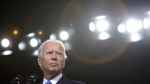 Democratic presidential nominee Joe Biden's campaign will air a series of ads during NFL games over the next week. (Alex Wong/Getty Images)