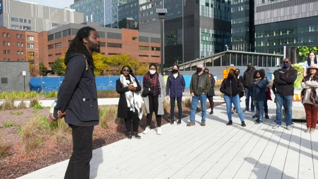 Tour guide offers glimpse into Montreal's often hidden Black history