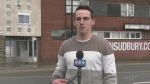 A graduate of Sudbury's Laurentian University School of Architecture has some ideas getting the attention of some city leaders. Oct. 18/20 (Ian Campbell/CTV Northern Ontario)