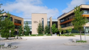 The Grey Bruce Health Unit is seen in Owen Sound, Ont. in this file photo provided by the health unit.