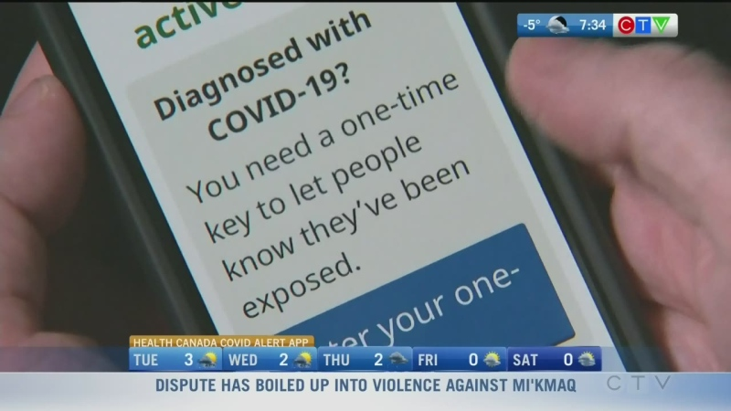 How to use the COVID Alert app