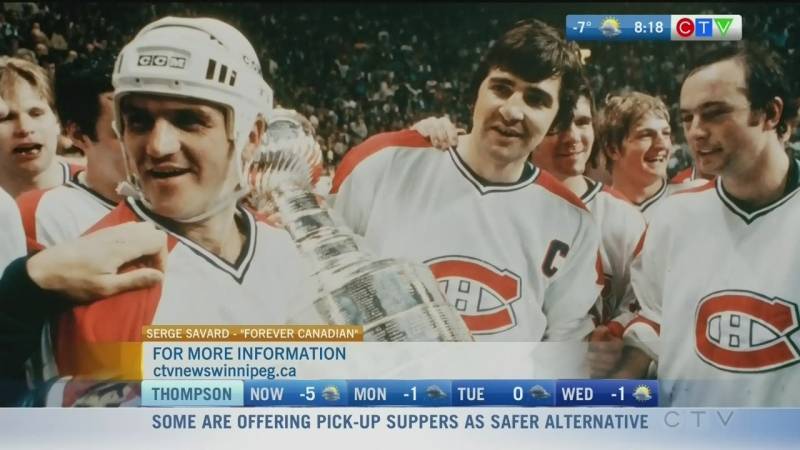 Former Winnipeg Jet Serge Savard previews new book