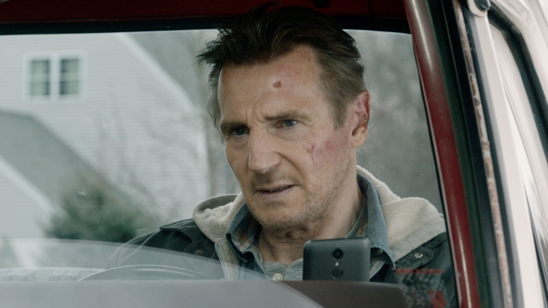 "This image released by Open Road Films shows Liam Neeson in a scene from ""Honest Thief."" (Open Road Films via AP)"