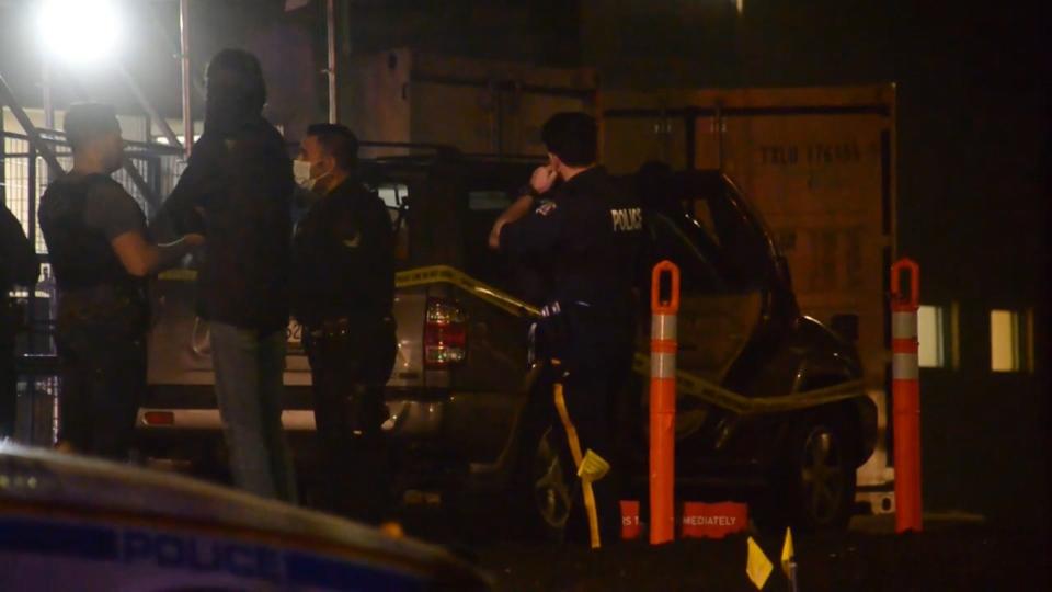 Vehicle shooting Surrey