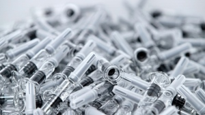UNICEF says the world will need 'as many syringes as doses of vaccine'. (AFP)