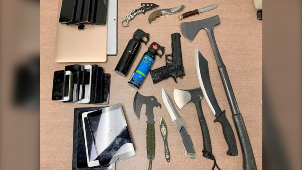 Lethbridge weapons bust