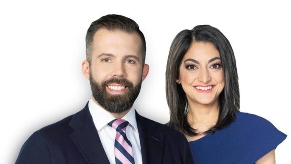 Kent Morrison and Ziyah Karmali will join CTV Morning Live Edmonton on Nov. 2. (CTV News Edmonton)