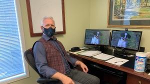 Stephen Boechler is a psychologist in Saskatoon.  (Nicole Di Donato/CTV News)