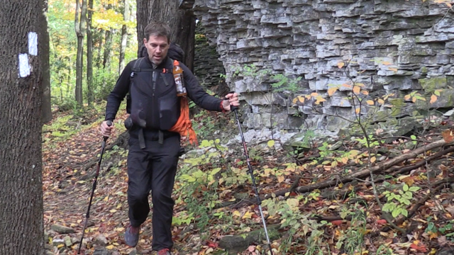 Tyler Gibson is making a 911-kilometre journey along the Bruce Trail.