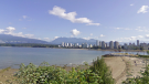 The waters off Kits Point in Vancouver, B.C. are seen in an undated Google Maps image.