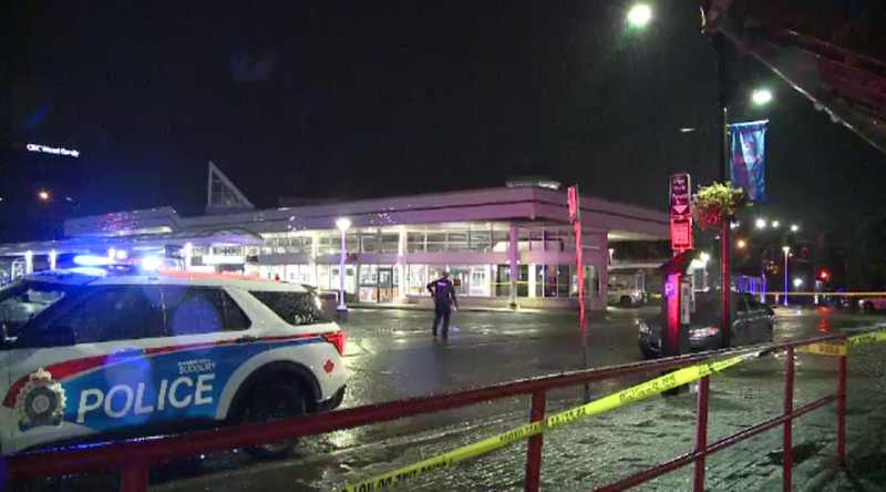 Following a murder Wednesday on Elm Street, another man was stabbed Sunday night on Cedar Street, before making his way to the GOVA transit terminal to get help. (Alex Lamothe/CTV Northern Ontario)