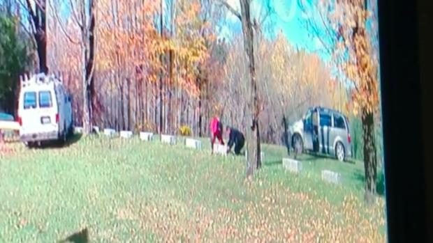Vermont backyard cam captures men sneaking across U.S.-Canada border